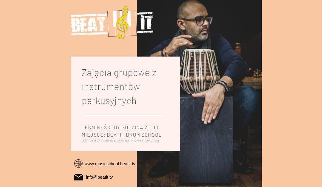 Zajęcia grupowe: instrumenty perkusyjne