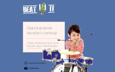 Zajęcia grupowe: zestaw perkusyjny dla dzieci